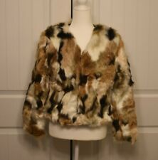 NWT!!! lanshifei faux fur coat- XL; SIZE 4 US/8 UK ... SEE DETAILS