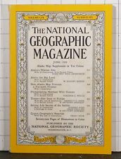 National Geographic Magazine  June 1956  Alaska's Warmer Side  d138