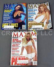 Maxim Mag Sept Oct & Nov 1999 Issue Love Hewitt Hart & Anderson Sex Sports Beer