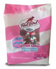 Red Bird Cotton Candy Puffs Made with 100% Pure Cane Sugar, 30 oz. Bag