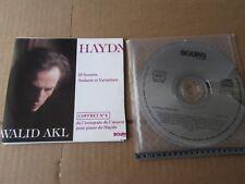HAYDN WALID AKL BOX No4: 10 SONATAS ANDANTE V BOURG 2 CD SET INCOMPLETE ARTWORK