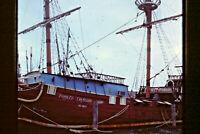 Lot of 3 Vintage Pirate Treasure Ship Key West Boat, Florida, 1973, 35mm Slides