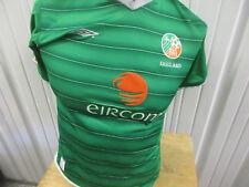 VINTAGE UMBRO IRELAND NATIONAL FOOTBALL TEAM YOUTH/WOMEN LARGE SEWN JERSEY 2003
