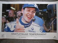 "Rothmans Williams Renault FW18 1996 #6 J. Villeneuve ""Onstuitbaar Temperament"""