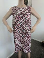 Sussan print dress size 18 layered dress Plus Size