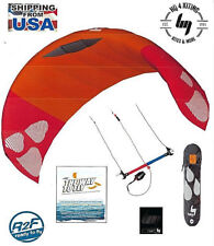 Hq4 Hydra 300 Water Power Trainer Stunt Kite-surfing-Boarding + Dvd Way To Fly
