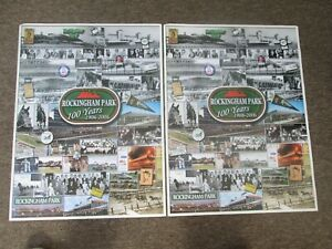 2 ROCKINGHAM PARK 100 YEARS 18x24 inch Posters 1906-2006 SALEM NH HORSE RACEING