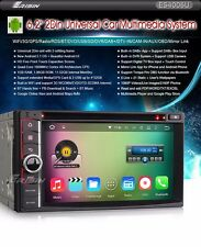 "AUTORADIO GPS 2 DIN ERISIN ANDROID 5.1 6.2""FULL HD USB SD WI-FI 3G NO DOGANA"