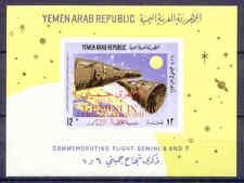 Raumfahrt, Space, Gemini - Jemen - Bl.56 ** MNH 1966