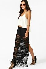 Nasty Gal - Morrison Maxi Skirt - size M/L