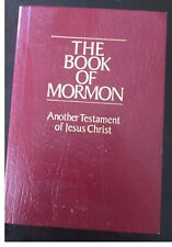 The Book of Mormon Another Testament of Jesus Christ 1981 Paperback Miniature
