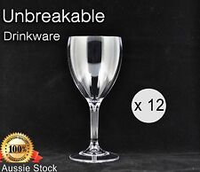 Unbreakable Glasses Glassware Elite Drinkware Polycarbonate Wine Glasses 325ml