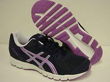 NEW Womens Sz 6.5 ASICS Rush33 T1H7N 5036 Navy Blue Purple Sneakers Shoes