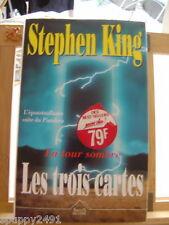 STEPHEN KING PISTOLERO LES TROIS CARTES JAQUETTE BE/TBE