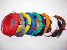 10 ROLLS 1.0 AMP STRANDED EQUIPMENT WIRE 100 mtr DX1210