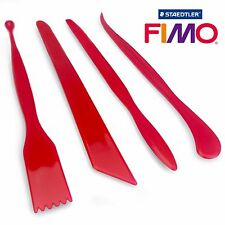 FIMO STAEDTLER Modelling Tools 4 X Assorted