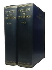 CAPTAIN R. F. SCOTT'S LAST EXPEDITION IN TWO VOLUMES, 1913 First Edition Set