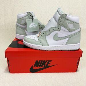 New Nike Air Jordan 1 Retro High OG Seafoam Women's US 7.5W #CD0461-002