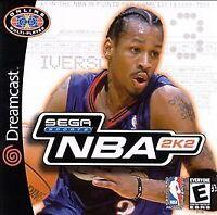 NBA 2K2  Dreamcast - Video Game