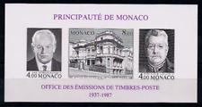 TIMBRE MONACO Année 1997 BLOC n°39a Non Dentelé NEUF**
