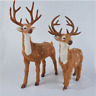 New Xmas Deindeer Big Simulation Deer Plush Giant Soft Toys Animal Stuffed Dolls