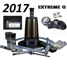 NEW 2017 ARIZER EXTREME Q 4.0 DIGITAL + FREE SS GRINDER, BALLOON PACK & SCREENS