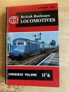 Ian Allan abc British Railways Locomotives Combined Volume Summer 1962 Edition
