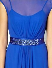 BNWT🌹️Coast 🌹Size 8 Lori Lee Blue Maxi Dress,Bridesmaids,Weddings Prom New