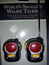Worlds Smallest Walkie Talkies distributed by rite-  aid NEW