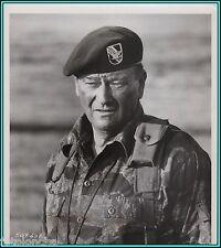 "JOHN WAYNE in ""The Green Berets"" - Original Vintage PORTRAIT - 1968"