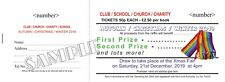 250 Full Colour Prize Draw Tickets - Raffle Tickets in 5s