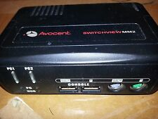 Used Avocent SwitchView MM2, Model #: 2SVPUA20 2-Port External KVM Switch
