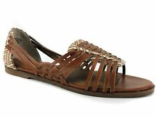 BC Footwear Women's Guess Again Sandals Cognac Brown Size 9.5 M