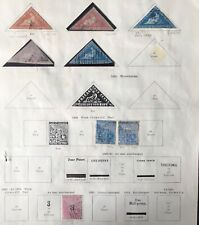 S. Africa - Cape of Good Hope - used collection with 5 triangles.