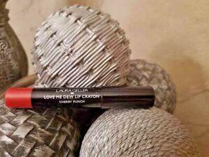 "Laura Geller Love Me Dew Lip Crayon ""Cherry Punch"" NEW!"