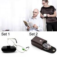 Bifocal Elders Reading Glasses +1.00~+4.0 Diopter Vision Care Eyeglasses