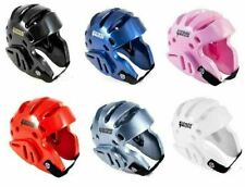 Martial Arts Protective Sparring Head Gear Taekwondo Karate MMA Boxing Helmet