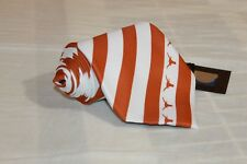 NEW WITH TAGS EAGLE WINGS Texas Long Horn Orange Striped Classic Woven Tie