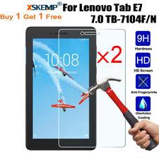 2Pcs Tempered Glass Screen Protector For Lenovo Tan E7  E8 E10 / M10 / M10 Plus