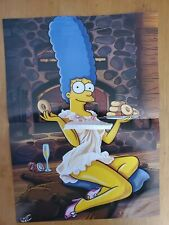 Marge Simpson Center Fold From Magazine
