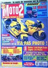 MOTO 2 n°101 du 8/1998; Duel Suzuki TL 1000 R contre Ducati 916/ Harley 1340 Nig