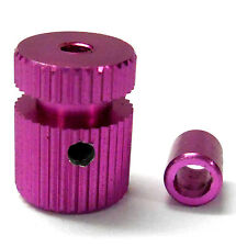 RC Receiver Alloy Antenna Pipe Column Stand Pink x 1