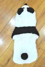 Panda dog costume clothes Small