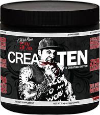 5% Nutrition CREA-TEN Creatine Createn- 30 Serv - FRUIT PUNCH-FREE SHIPPING