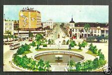 Tainan City Roundabout Hotel Statue Formosa Taiwan 50s