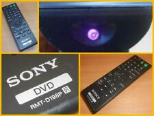 Sony DVD RMT-D198P R Remote Control Fully Working