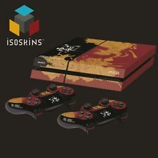 Isoskin® Type 0 Touching Finger Crimson & black Playstation 4 (PS4) Skin Decal