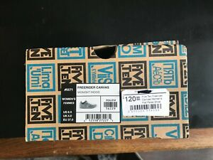 Five Ten Freerider Canvas Women's Flat Pedal Shoe: Midnight Indigo 6.5