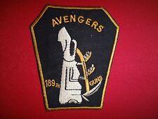 GUNS Platoon 189th Assault Helicopter Company AVENGERS Vietnam War Patch