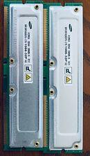 Samsung RIMM-2100 (PC1066) 256 MB RIMM 533 MHz RDRAM (Rambus DRAM) Memory...